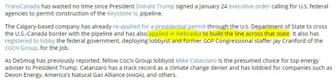 keystone-xl-lobbying-jay-cranford-gop-congressional-staffer