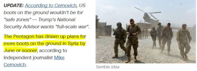 report-us-plans-send-troops-syria-enforce-safe-zones
