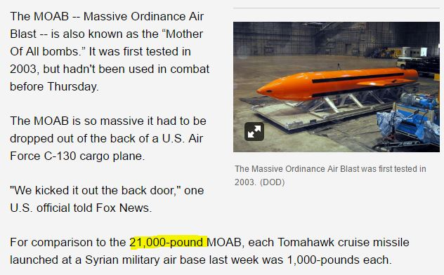 us-drops-largest-non-nuclear-bomb-in-afghanistan-after-green-beret-killed